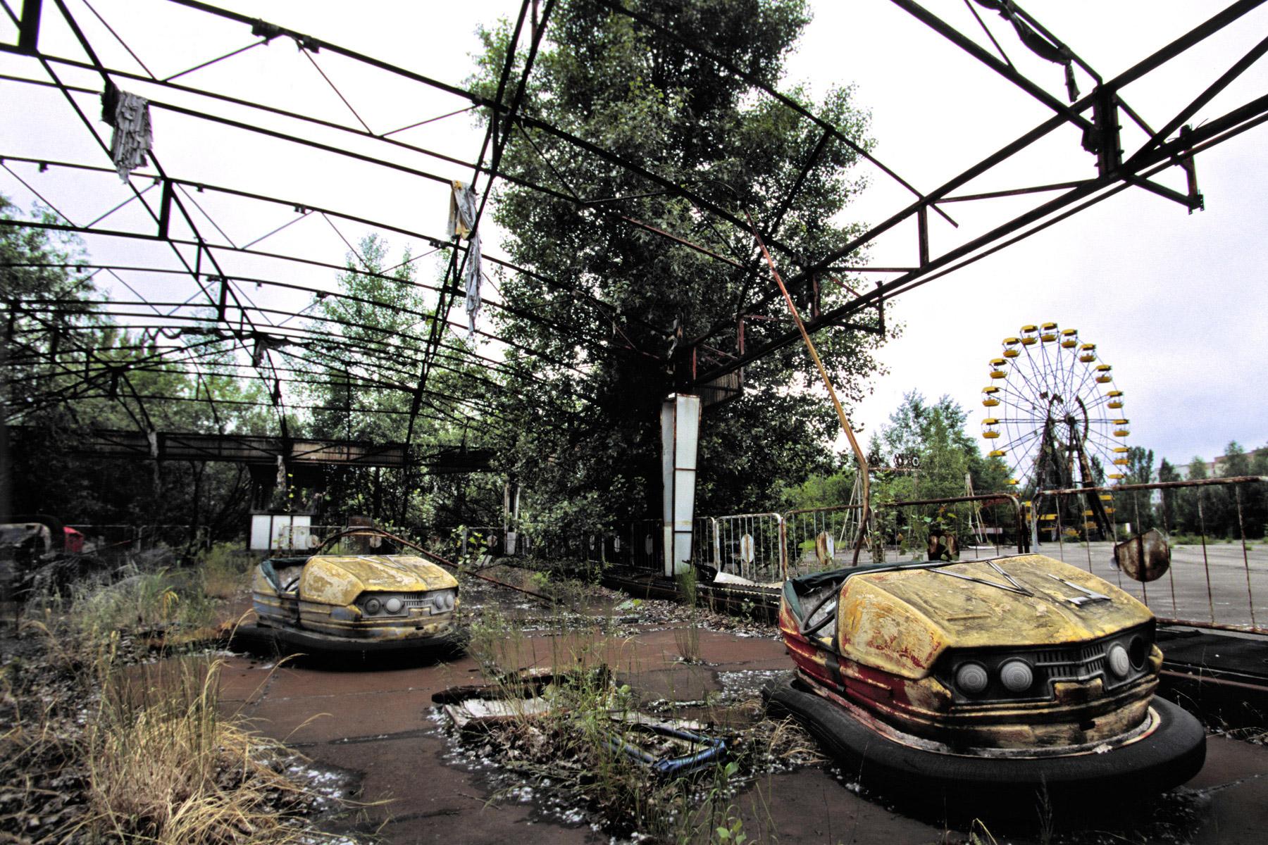 """Lugares abandonados: imágenes del mundo """"después de los humanos"""""""