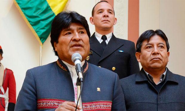 Evo Morales defiende que el intento de golpe de Estado en Venezuela «es una conspiración de EE.UU»
