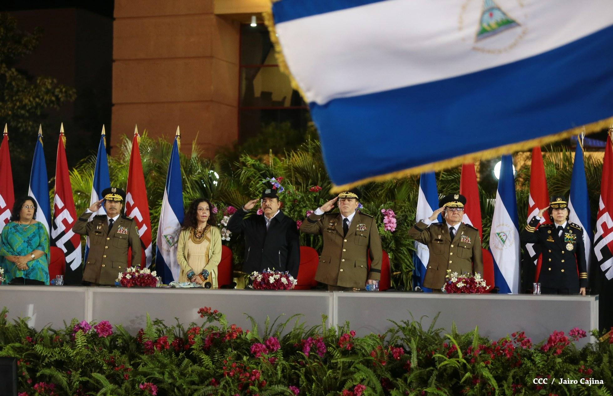 Daniel Ortega habla del avance optimista de Nicaragua y de su apoyo a Nicolás Maduro