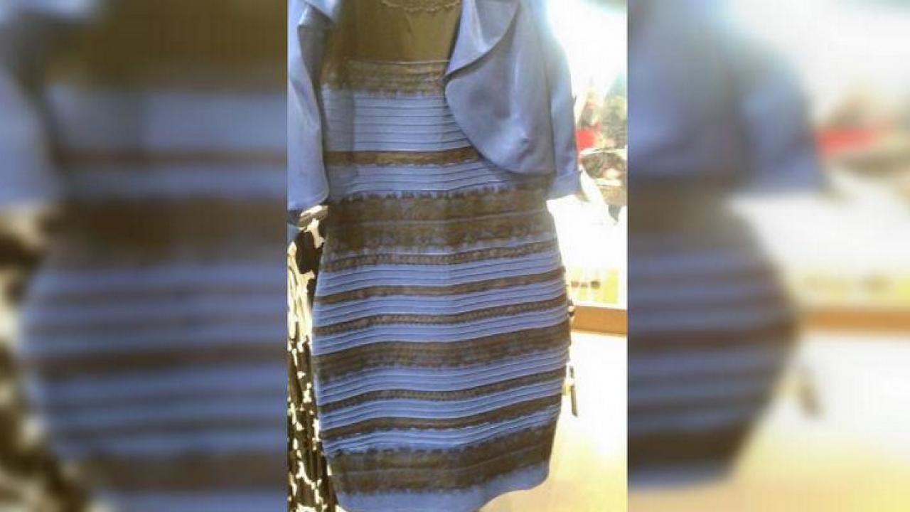 Azul Y Negro O Blanco Y Dorado Explicación Científica Al