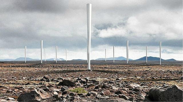 Vortex: aerogeneradores sin aspas