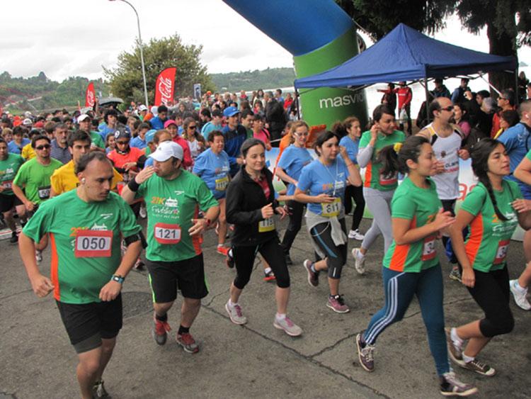 Media maratón 21K arranca este domingo en Frutillar