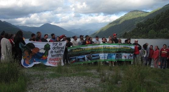 Comunidades mapuche y organizaciones llaman al SEA a retirar proyecto Neltume de Endesa