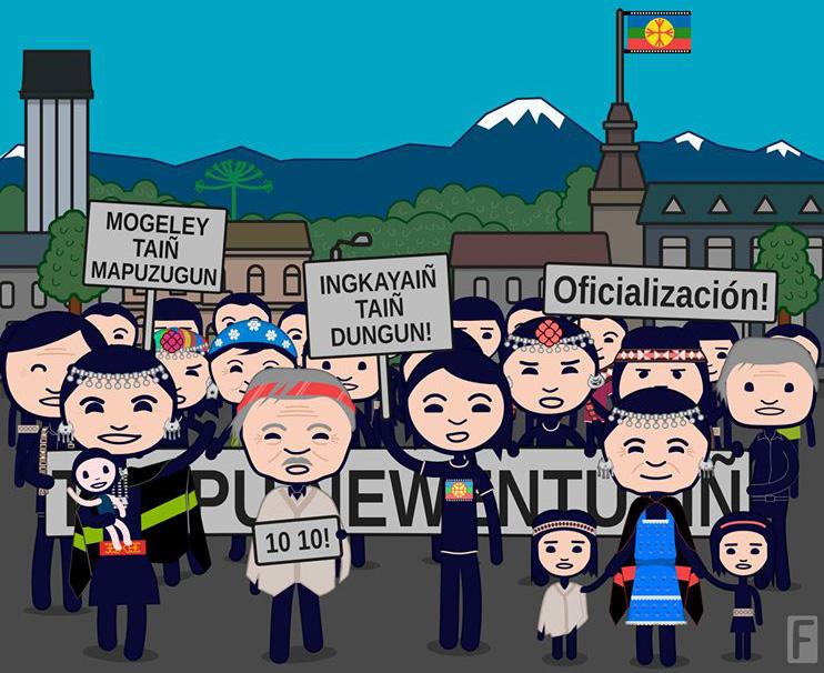 Municipio de Pucón impartirá clases gratis de la lengua mapuche para toda la comunidad
