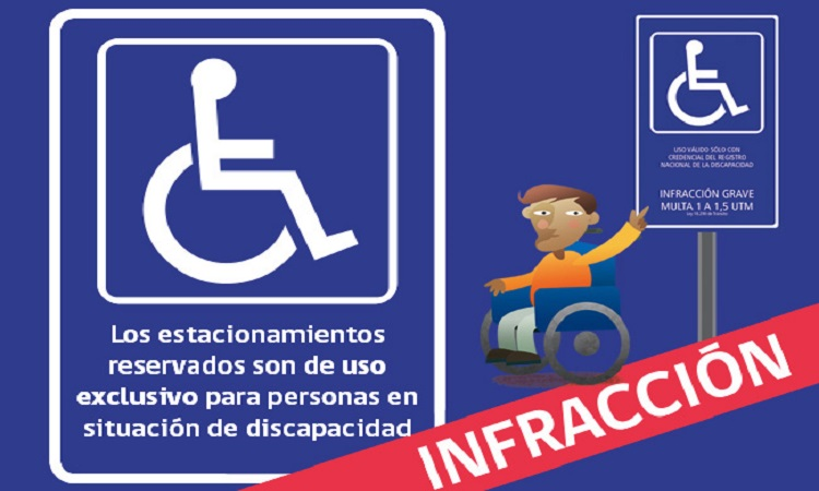Lanzan campaña para respetar estacionamientos para discapacitados