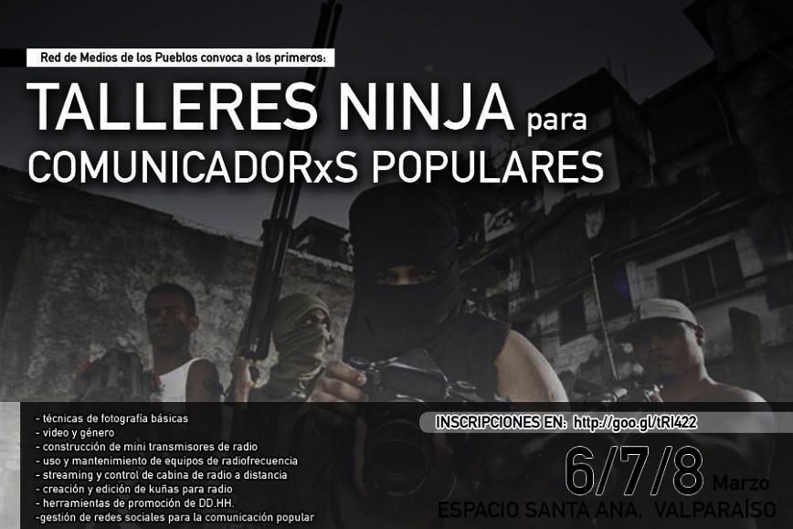Talleres Ninja para Comunicadorxs populares