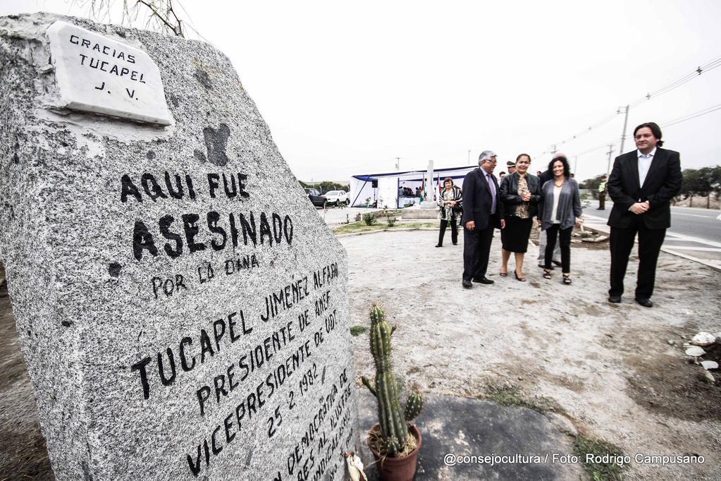 Hoy se conmemoran 33 años del asesinato a Tucapel Jiménez a manos de la DINE