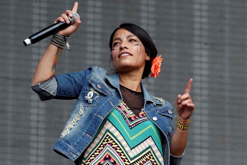 Anita Tijoux y su apoyo a las causas del Pueblo Mapuche
