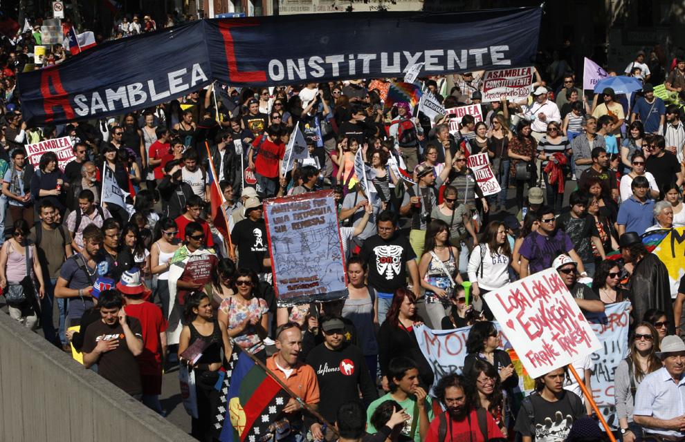 3 canciones para los corruptores y corrompidos de Chile, y nuestro despertar social un 16 de marzo