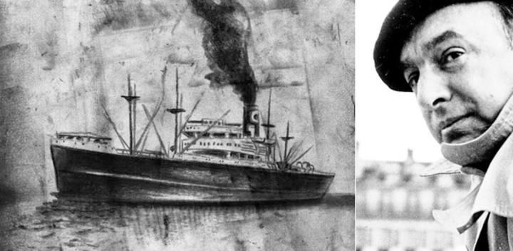 'Winnipeg', el barco con el que Neruda salvó a 2.000 refugiados de la Guerra Civil española