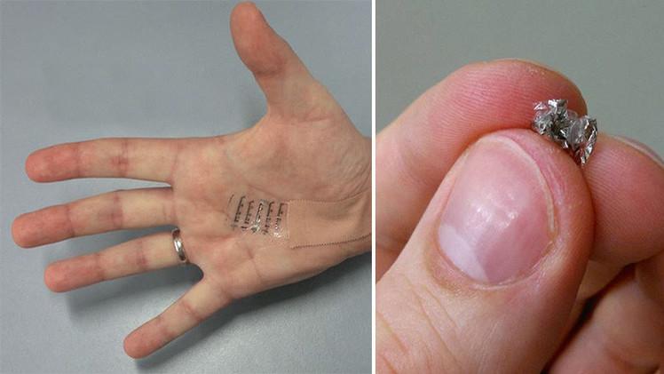 La piel electrónica permitirá a los humanos gozar del 'sexto sentido'