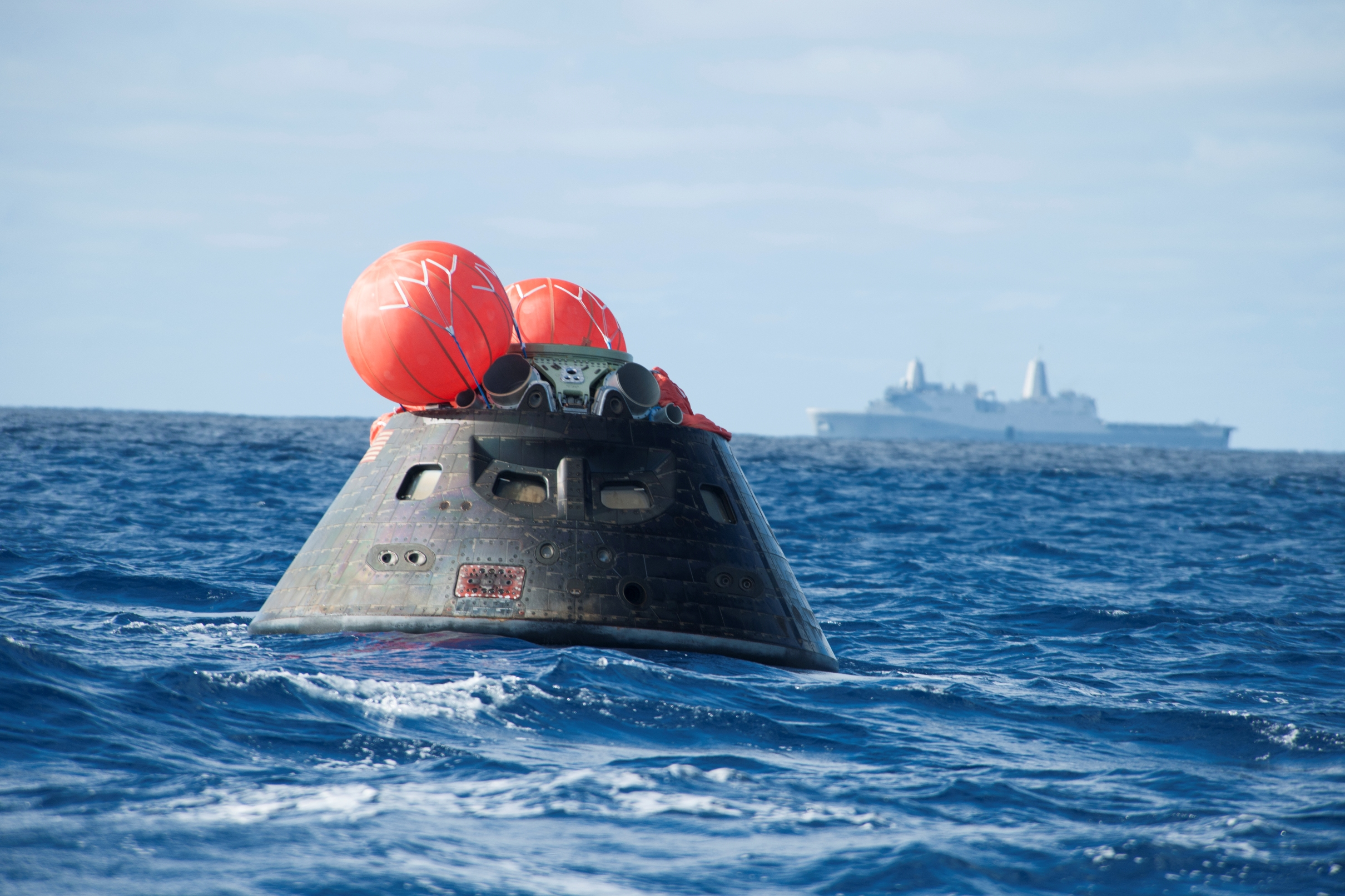 El cementerio de naves espaciales en medio del Pacífico Sur