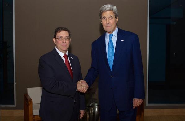 Cancilleres de Cuba y EEUU se reúnen por primera vez después de más de medio siglo