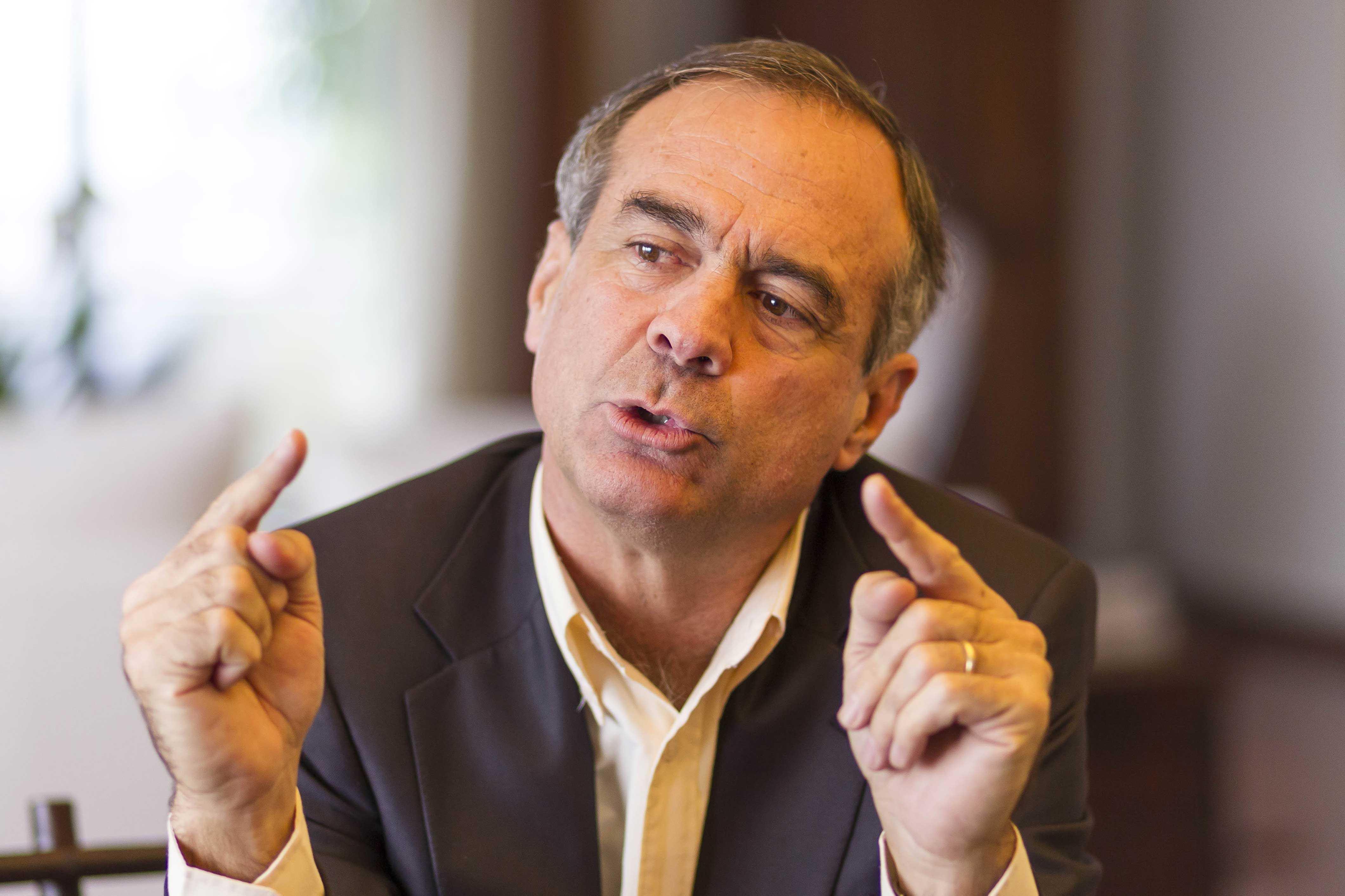 Ignacio Walker y su eventual candidatura a la presidencia de la República