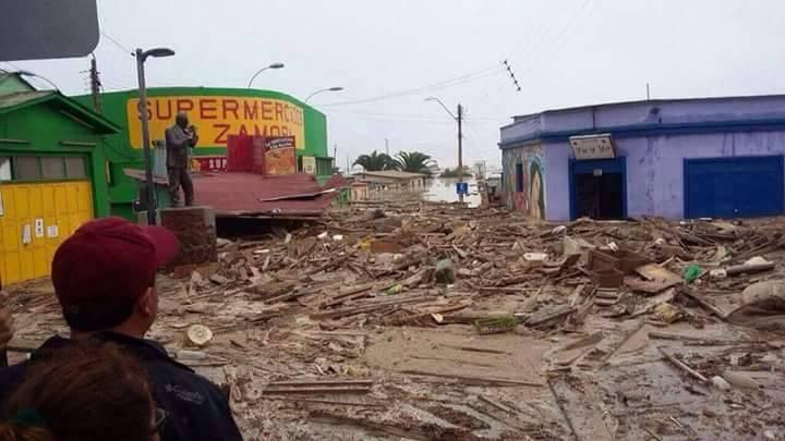 Diputado Carmona preocupado por efectos de contaminación en la población tras aluvión en Copiapó