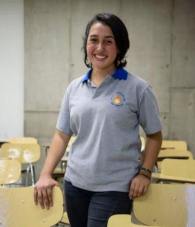 Aurora Rozas, estudiante del Liceo Latinoamericano es la nueva vocera de los secundarios