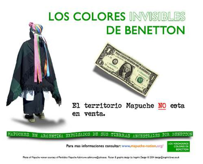 Grupo de resistencia mapuche lleva 4 meses ocupando tierras de Benetton