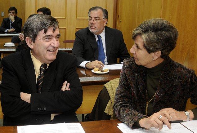 Isabel Allende confirma triunfo sobre la mesa del Partido Socialista y Camilo Escalona junto con Osvaldo Andrade critican su actitud