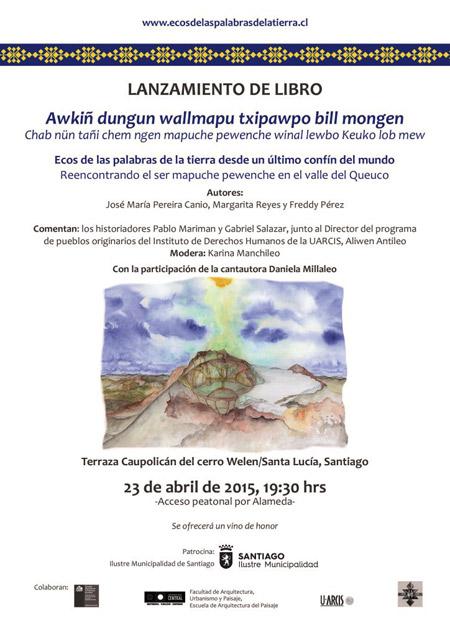 Lanzarán libro sobre sabiduría ancestral mapuche pewenche
