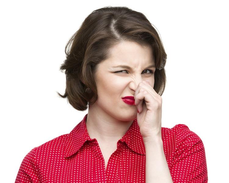 Evitar mal olor en partes intimas