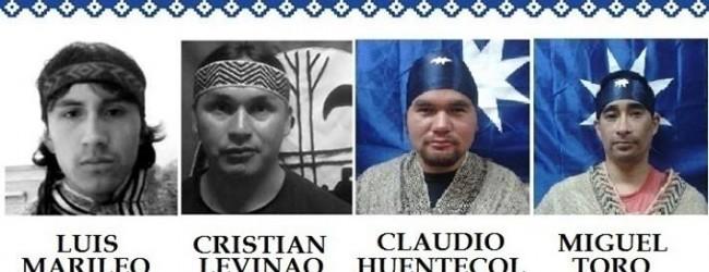 4 presos políticos mapuche cumplen 11 días de huelga de hambre en la cárcel de Angol