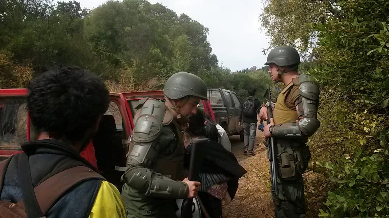 Violenta represión: Familias mapuche bajo fuego en Ercilla