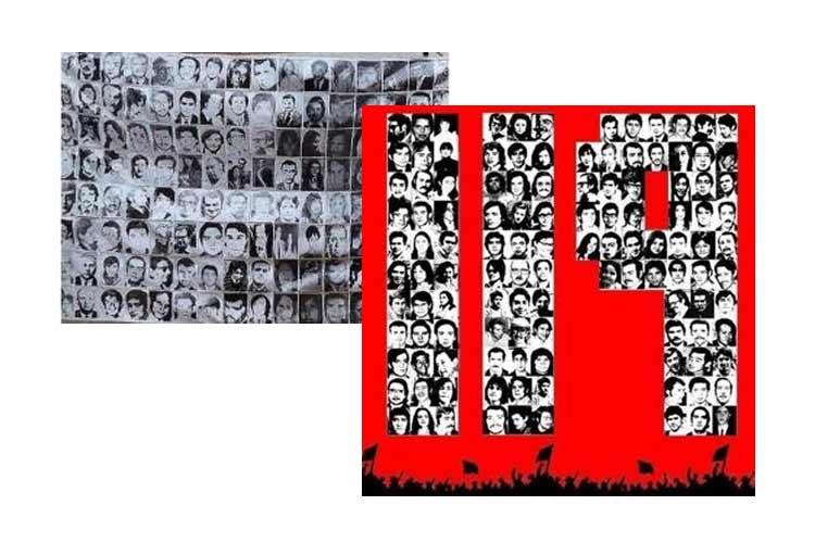 Homenaje a los 119 Detenidos Desaparecidos por la Operación Colombo