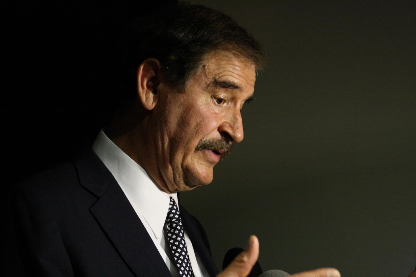 Vicente Fox: «EE.UU. debería hacer la guerra al narcotráfico en su territorio»