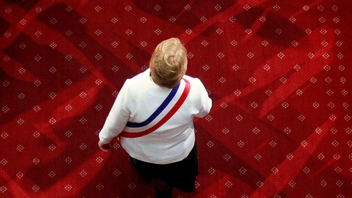Michelle Bachelet, discurso de bajo perfil y ambiguo