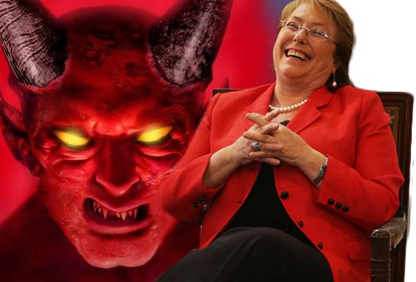 La Presidenta de la República pacta con el diablo