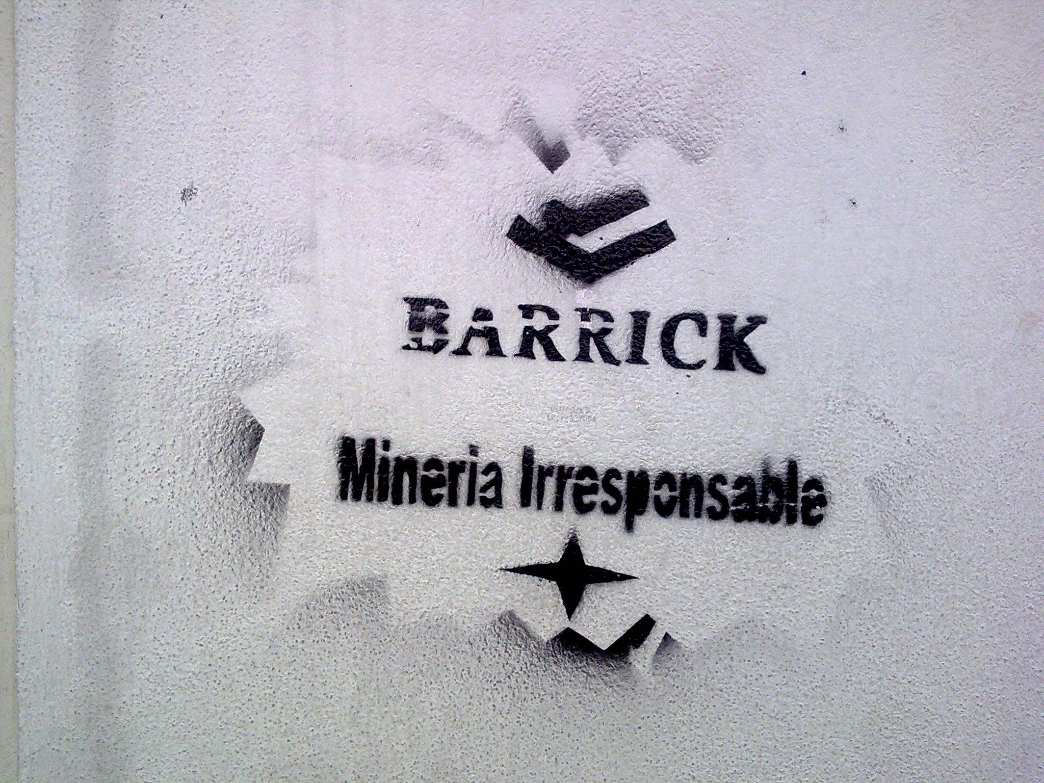 Comunidades del Valle del Huasco: Barrick Gold «es una empresa criminal»