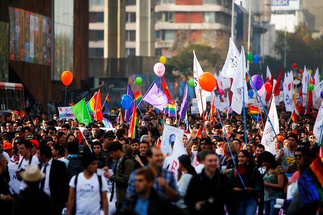 Con más de 50 mil personas se desarrolló marcha por la No-discriminación