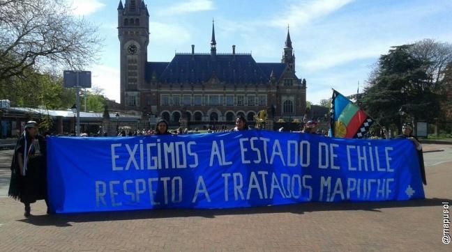 La Haya: La denuncia del pueblo mapuche porque Chile no cumple tratados con los pueblos originarios