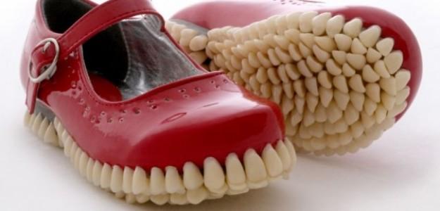 Estos son los 15 pares de zapatos más extraños del mundo ¿WTF?