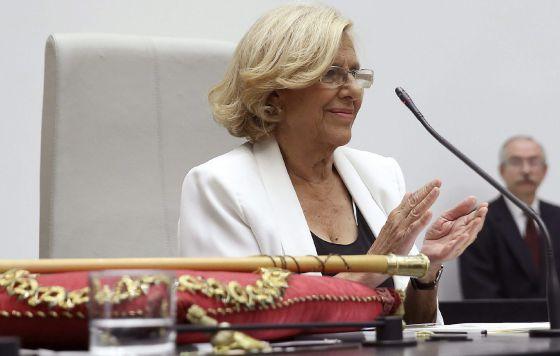 Madrid recibe con esperanzas renovadas a su nueva alcaldesa