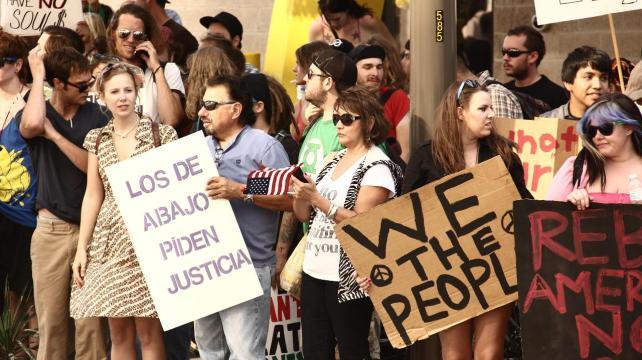 Texas: protestas contra el racismo y la brutalidad policial
