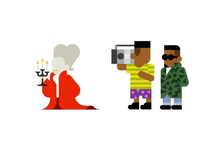 Every Hey: Maravillosas Ilustraciones de íconos pop