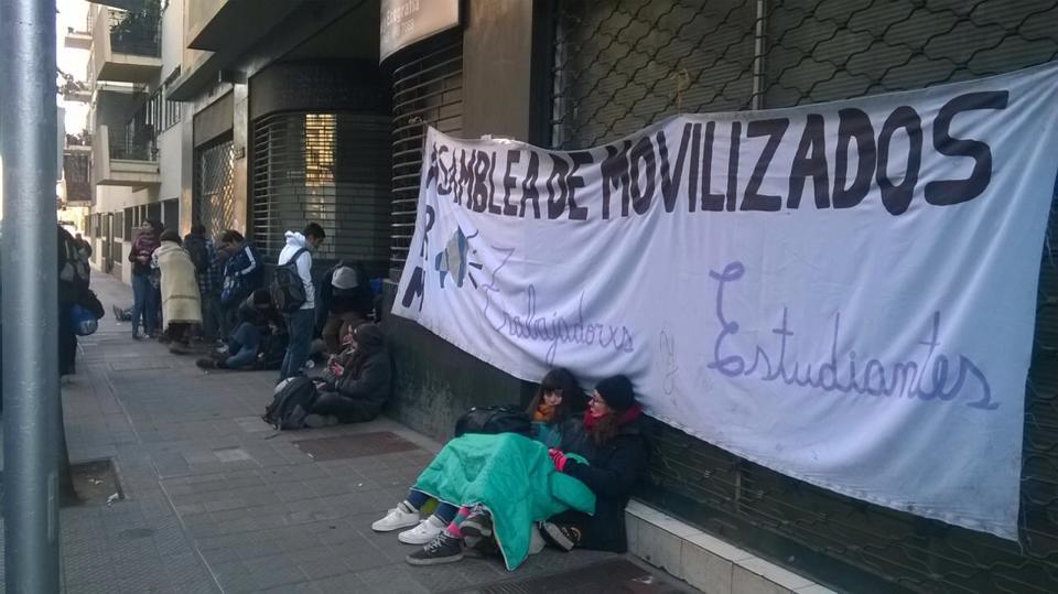 Los 184 estudiantes detenidos tras el desalojo de la UAH fueron puestos en libertad