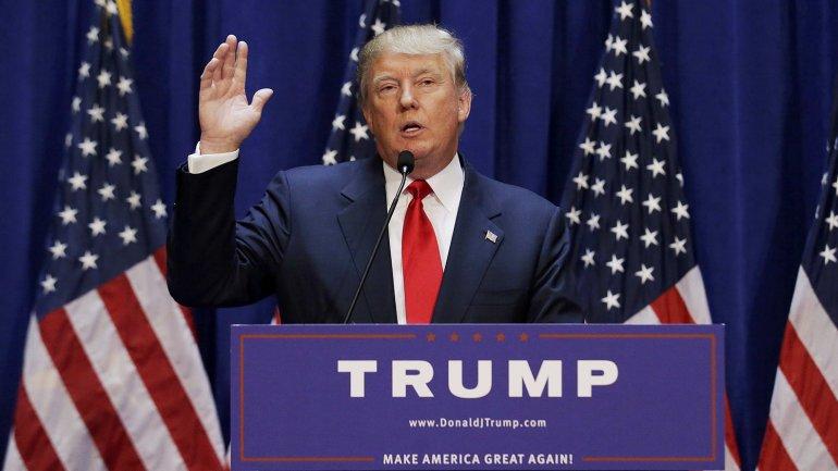 Donald Trump se presenta como candidato a la presidencia de los Estados Unidos