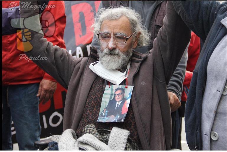 Continúa Huelga de Ex Presos Políticos