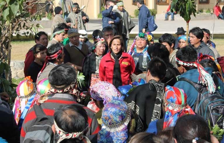 Pueblos Originarios celebraron Año Nuevo Mapuche y Aymara en Peñalolén