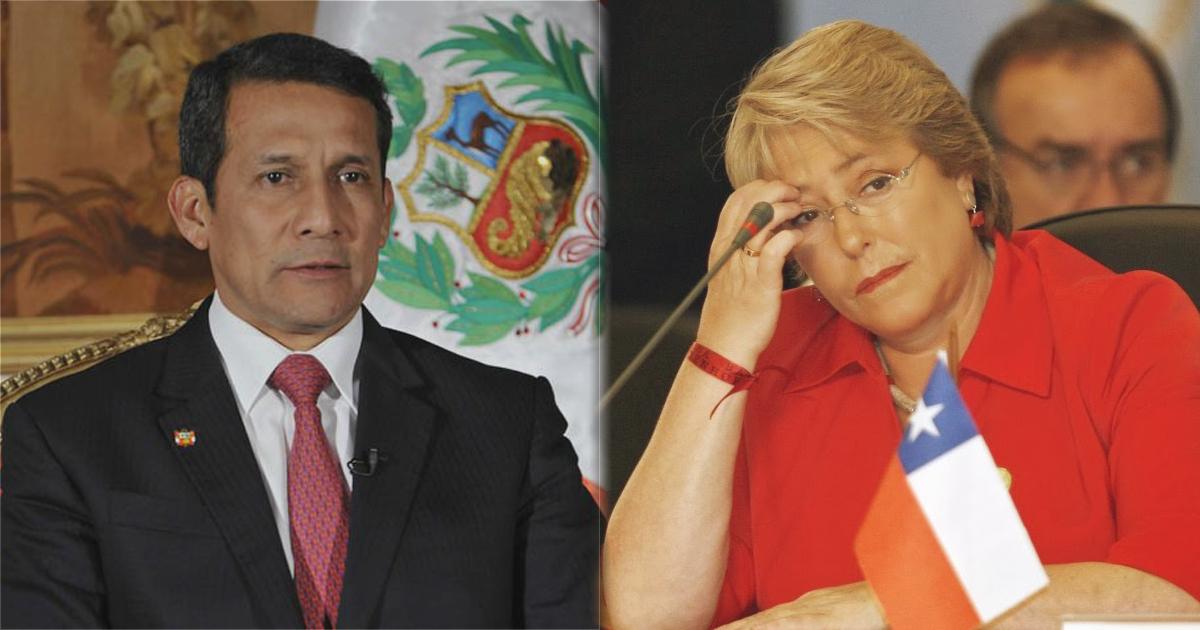 Bachelet suspende reunión con Humala tras apoyo explícito a Bolivia
