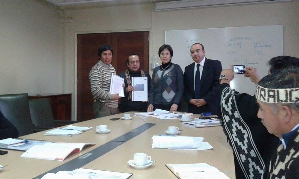 Ministra de Salud se enoja y abandona reunión con dirigentes mapuche que viajaron a Santiago