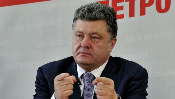 Poroshenko autoriza la participación de fuerzas militares extranjeras en operaciones en Ucrania
