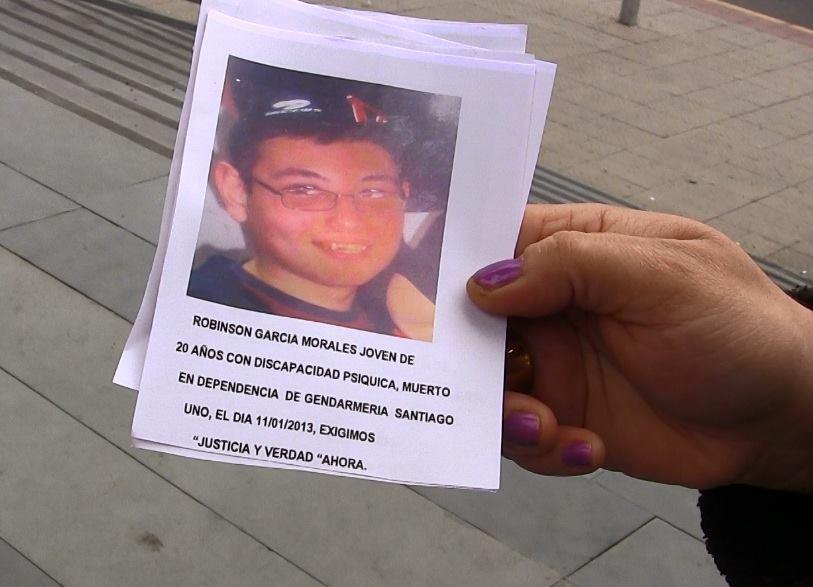 Implican a Gendarmería en muerte de joven con discapacidad mental