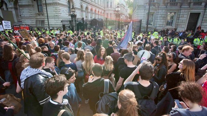 Londres se prepara para gran manifestación antineoliberal