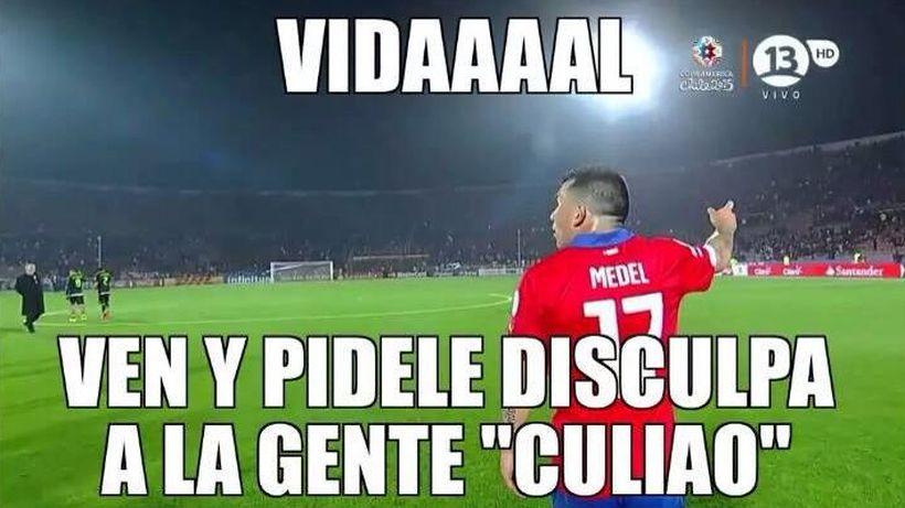 #Vidalazo: La nueva estrella tragicómica en la historia del fútbol chileno