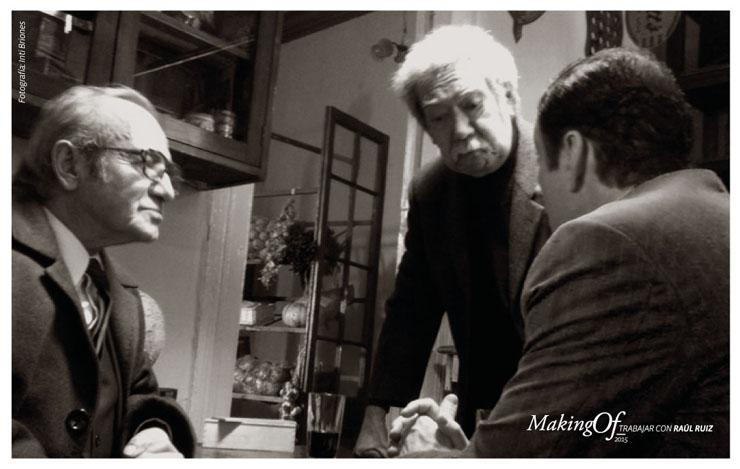 Películas, testimonios y exposiciones en ciclo dedicado a Raúl Ruiz