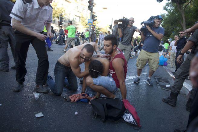 Sangrienta Marcha del Orgullo Gay en Jerusalén