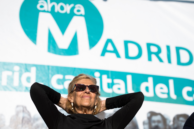 Manuela Carmena consigue en Madrid evitar que cientos de personas sean desahuciadas